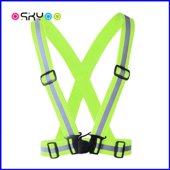 High Visibility Outdoor Sports Traffic Safety Reflective Vest