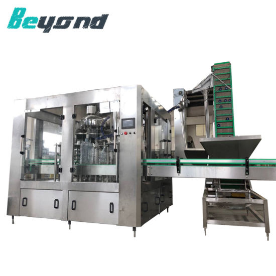 Microcomputer Control Automatic Mineral Liquid Water Filling Machine Price pictures & photos