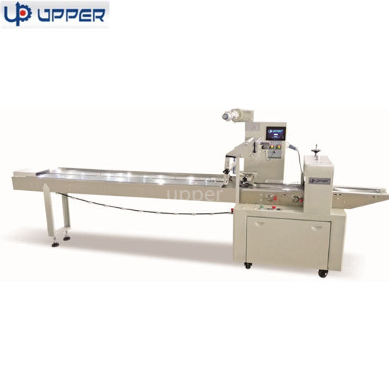 Horizontal Flow Packing Equipment for Cookies Biscuit /Bun Bread /Chocolate Packing