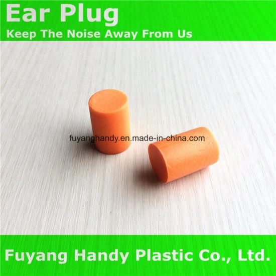 Ce Certificated Cylinder PU Earplugs