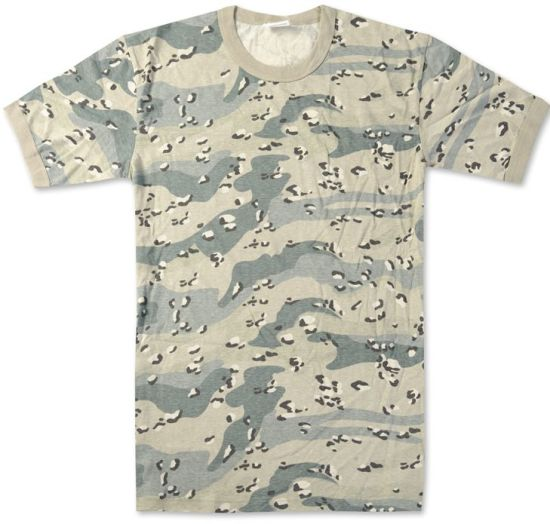 102264abecf Wholesale Bulk Factory Direct Price Poly Cotton Classical V Neck Camouflage  Army Military Tshirt with Custom