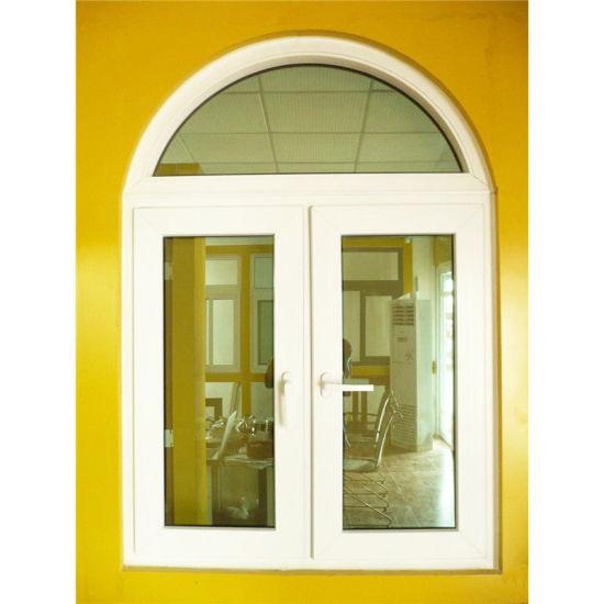 PVC Door Window Foshan Wholesale Price Round Casement Windows