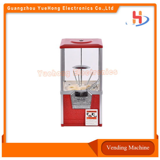 Wholesale Price Candy Dispenser Bouncing Ball Capsule Coin Operated Vending Gumball Machines