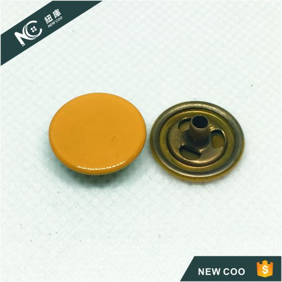 Factory Hot Selling Metal Snap Button for Jeans Jacket