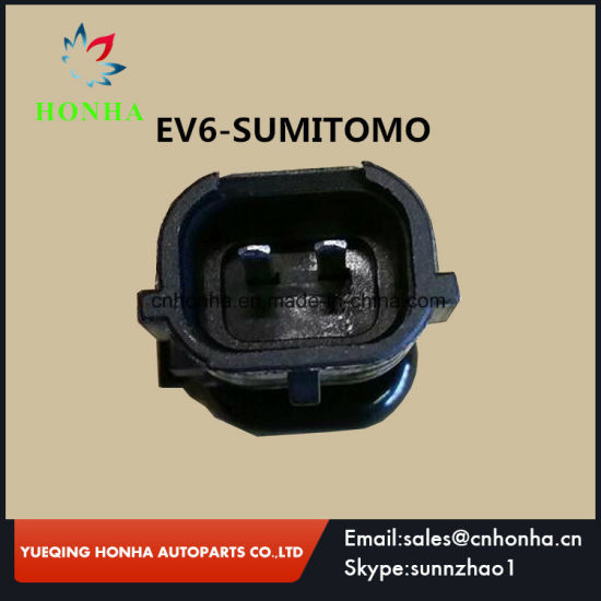 Three Different Types EV1 to EV6, EV6 to OBD2, EV6 to Sumimoto Fuel  Injector 2 Pin/Way Sealed Connector