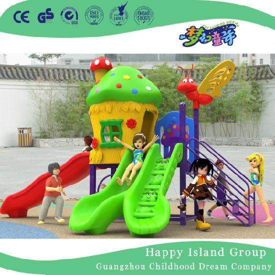 Small Playground Kids Mushroom Backyard Playground Equipment with Cheap Price (H17-A6)