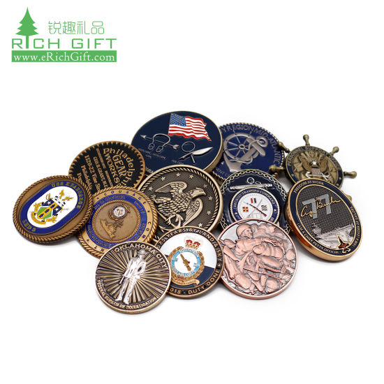 High Quality Custom Metal 3D Fashioned Roman Us Copper Antique Brass Silver Gold 13 Hijri Islamic Rare India Old Coins for Sale