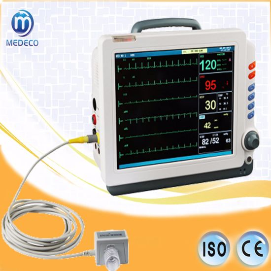 Portable Digital Medical Electrocardiograph ECG 8160 pictures & photos
