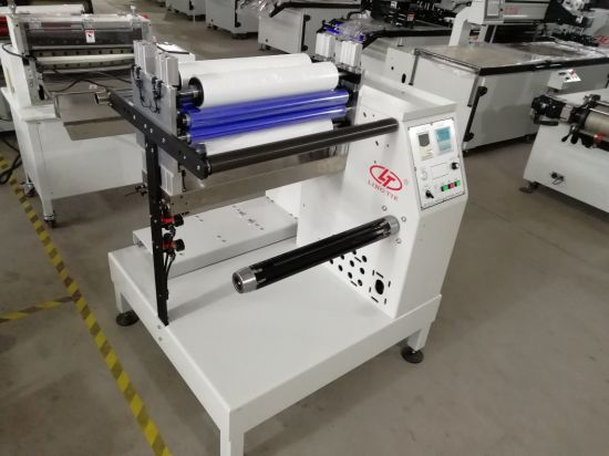 Self-Adhesive Blank Label Slitter with Constant Tension Control