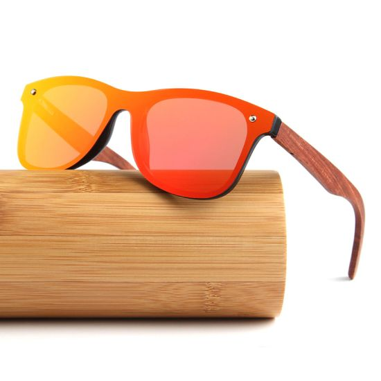Conchen Glasses Factory Plastic Frame UV400 Polarized Sunglasses 2019 Sun Glasses Wooden