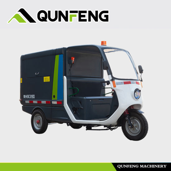Electric Sweep and Transit Tricycle