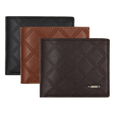 Manufacturer Men's Genuine Smart Leather Fashion Wallet