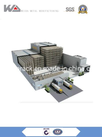 High Density Warehouse Storage Racking Automatic Shuttle System Radio Rack
