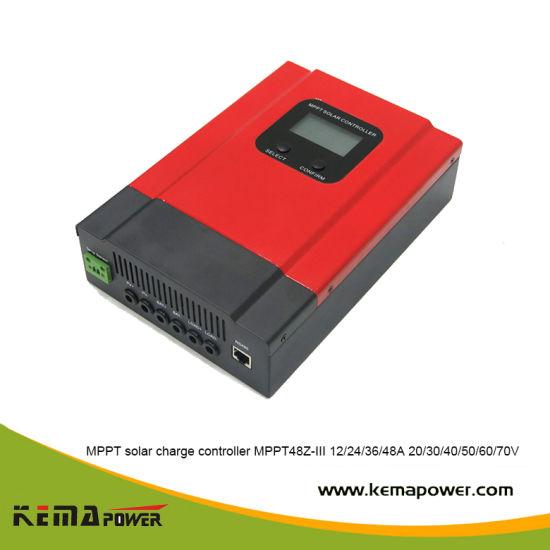 Solar Energy 30A MPPT Charge Controller 12V 24V 48V for&Nbsp; Battery System