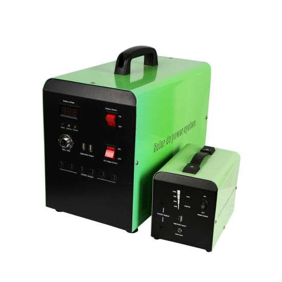 50W 50ah Solar Power System for Home Use