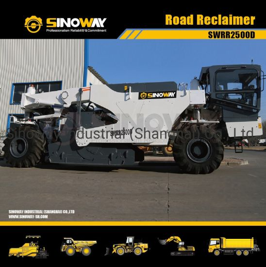 Chinese Road Reclaimer Soil Stabilizers Road Cold Recycler Recycling Machine pictures & photos