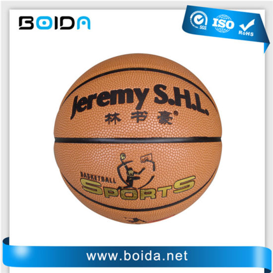 Promotional Waterproof PU PVC TPU Sport Rubber Basketball (B88380) pictures & photos