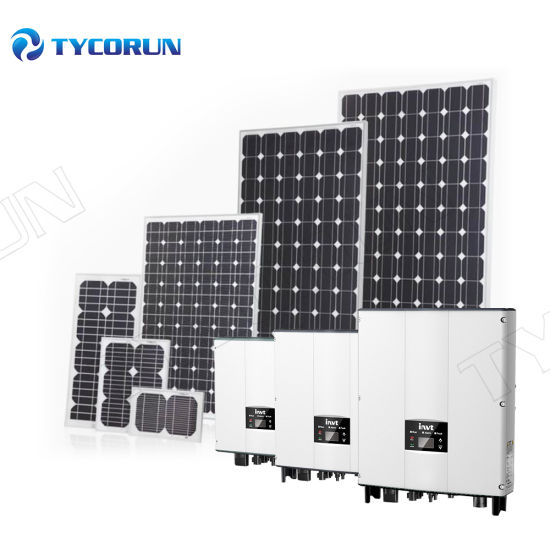 Tycorun High Efficiency Home off Grid Solar Panel Power System 3000W Solar Systems for House
