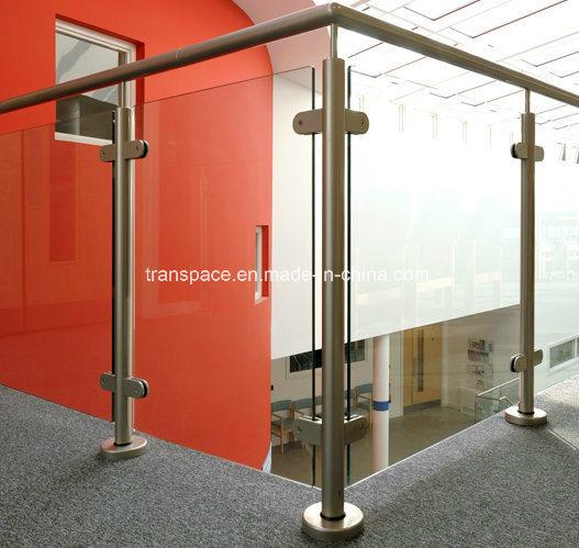 Modern Customized Glass Clamp Stainless Steel Glass Balustrade Railing
