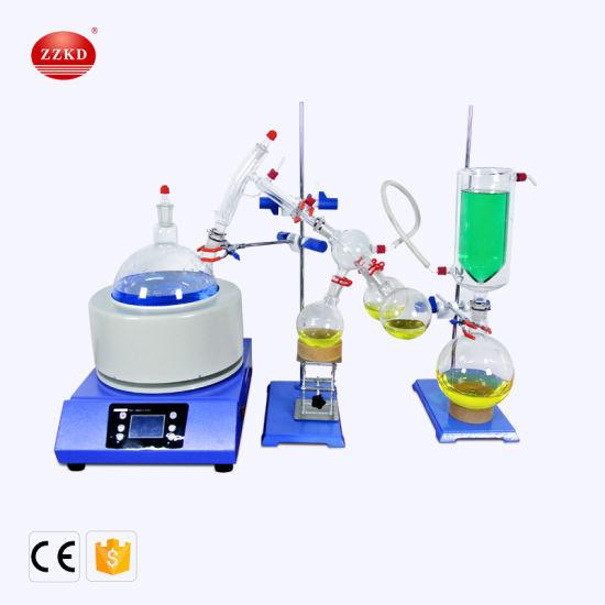 Molecular Distiller Fractional Kit Distillation Equipment 5 Liter Short  Path Distillation Units