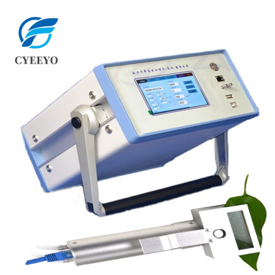 There Is Software Display Export Curves Plant Photosynthesis Meter Tester