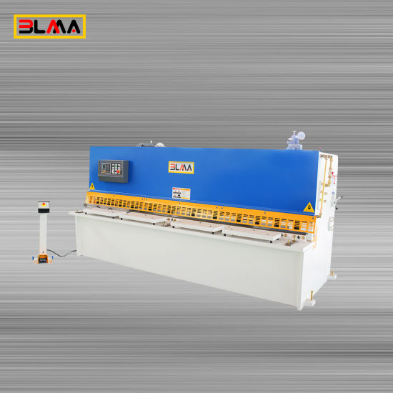 Hydraulic Steel Metal Plate Small Shearing Machine QC12y 4X2500 for Sale