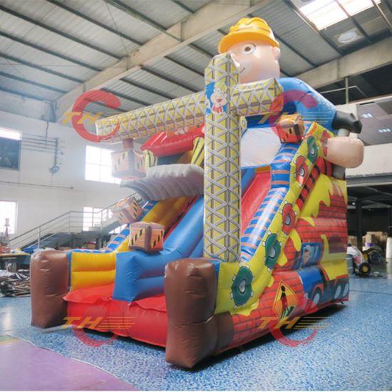 Custom Inflatable Slides, Giant Inflatable Crocodile Slide, Factory Direct Good Quality Bouncy Slide Toys