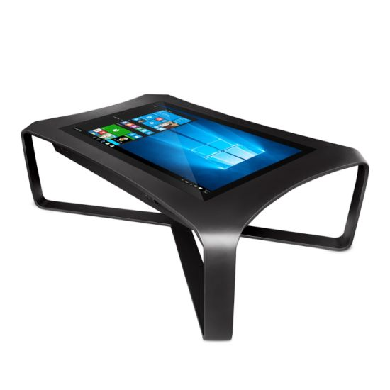 Aiyos 42 43 Inch Touch Table Price WiFi Interactive Smart Multi Touch Screen Coffee Table