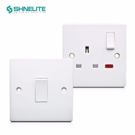 High Quality UK Bakelite 20A Wall AC Electric Switch