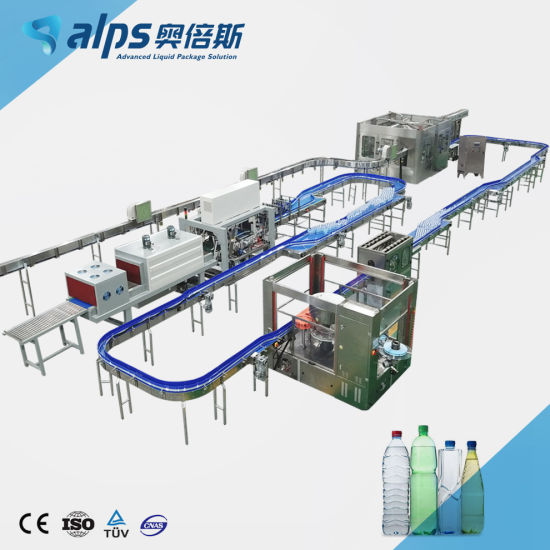 Automatic Pet Bottle Liquid Drinking Water Fruit Juice Carbonated Beverage Soda Drink Production Line Filling Machine Bottling Plant