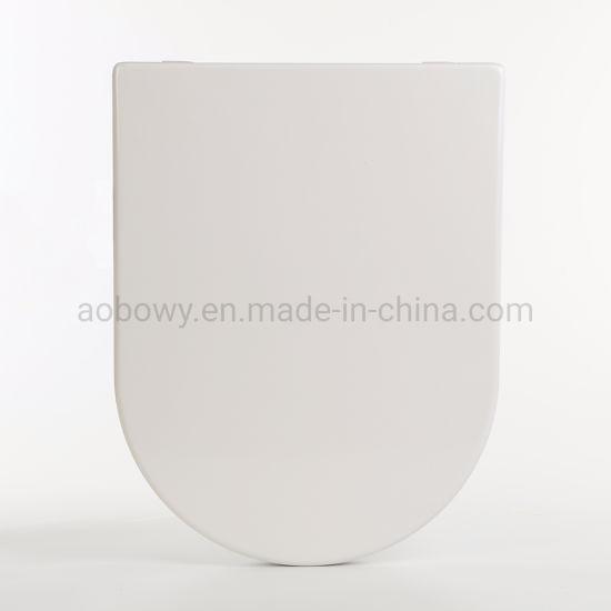 Ap108/Slow-Close Quick Realse Toilet Seat/Plastic Toilet Seat/PP Toilet Seat