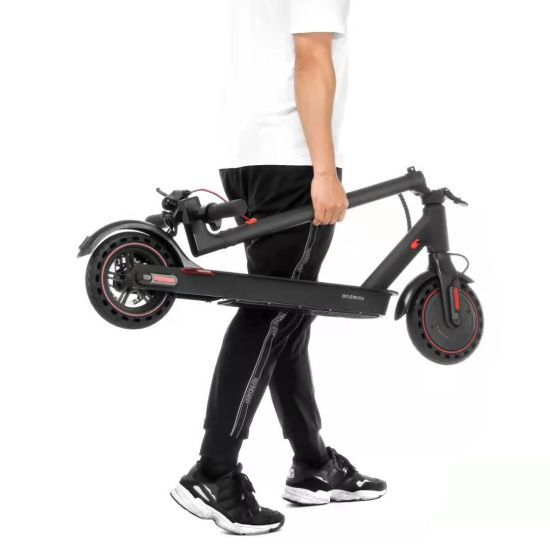 Wholesale 300W E9PRO Electric Scooter Foldable Powered with 7.5ah Battery Motor Adult Scooter 8.5inch Solid Wheel