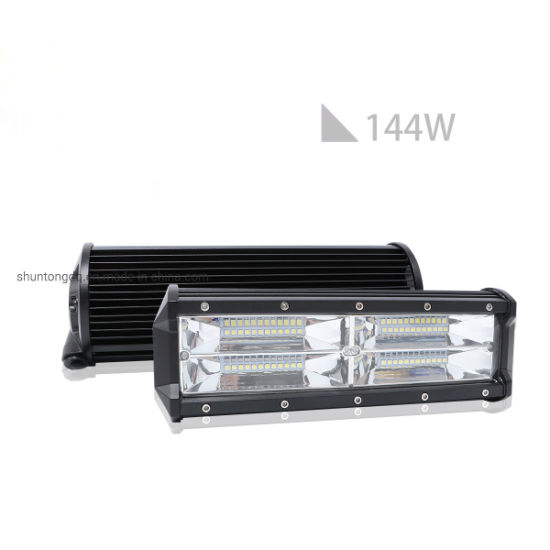 LED Light Bar 9inch 144W LED Work Light Bar White Color Driving Lights for Offroad Trucks SUV ATV 4X4 Jeep Boats Super Bright pictures & photos