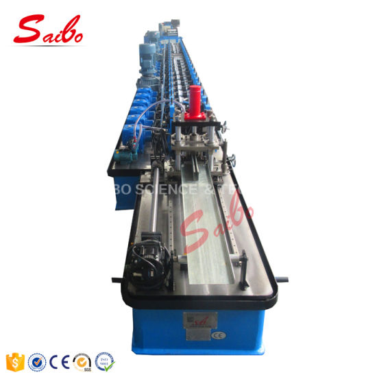 Shutter Door Channel Guide Rail Roll Forming Machine