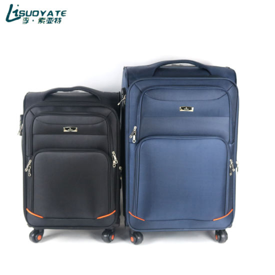 Luggage Factory Manufacturing 20/24inch Fabric Suitcase