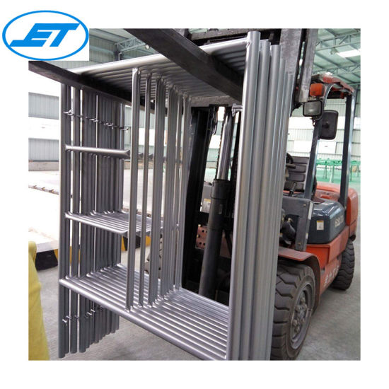 Certified Building Material/Construction High Quality Fast Lock Ladder Scaffolding Materials Name List Frame Scaffold
