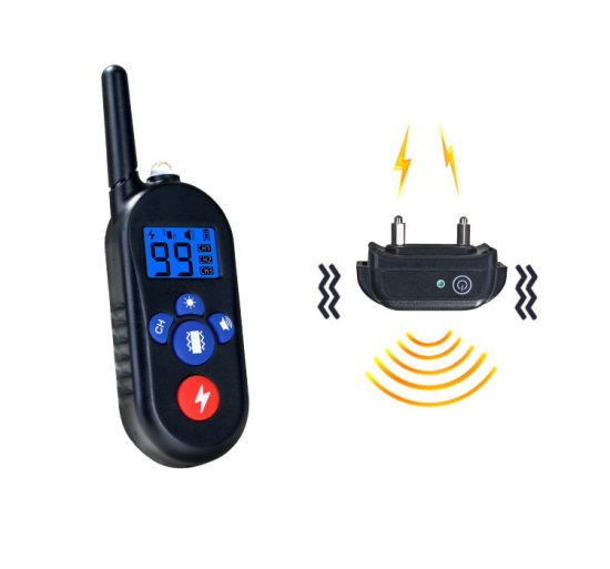 Pet Trainer Waterproof Remote Electric Control Pet Dog Training Rechargeable Shock Collar for Dog Training