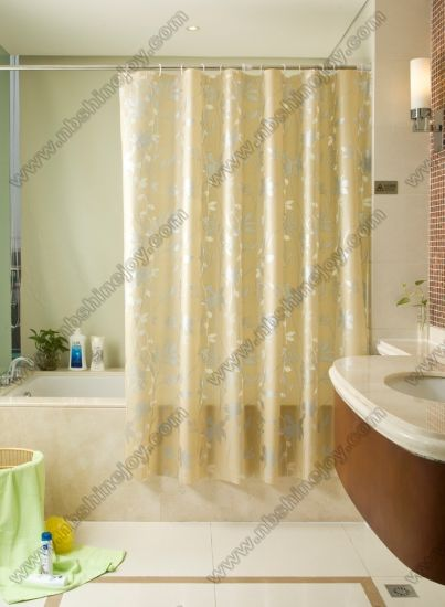Transparent Fancy Shower Curtain