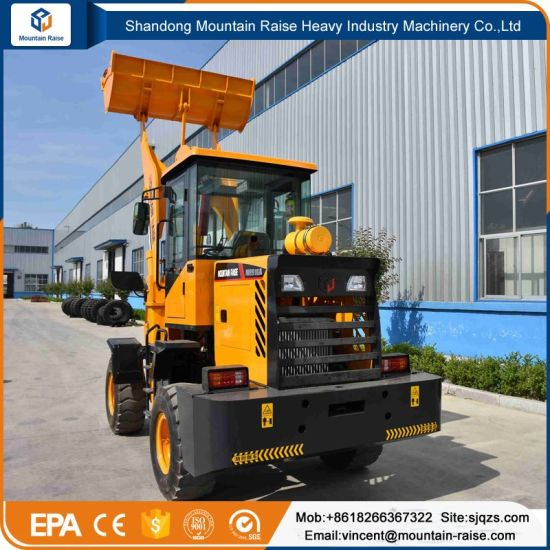 Ce Approved Articulated Loaders for Heavy Work pictures & photos
