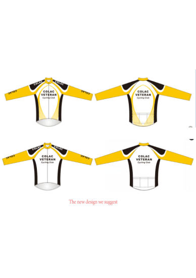 Good Design Cycling Wear Long Sleeves Cycling Jersey with Good Price pictures & photos