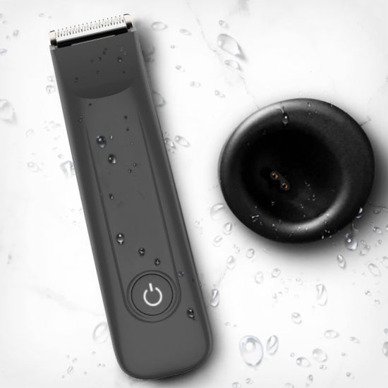 Waterproof Electric Rechargeable Cordless Professional Body Men Hairscape Groin Hair Trimmer