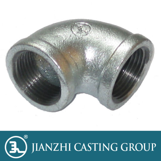 BSP Black Malleable Iron Reducing Elbow Pipe Fitting