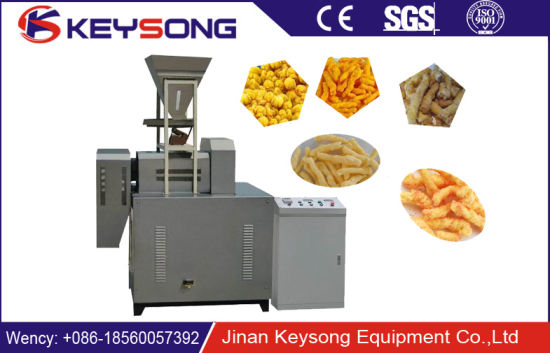 High Capacity Best Price Kurkure/Cheetos/Corn Curls Snacks Food Making Machine pictures & photos