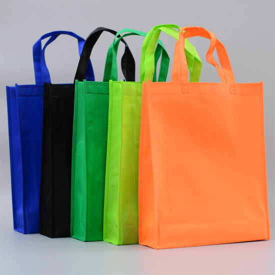 4a8150a033 Custom Non-Woven Cloth Promotional Shopping Bags Wityh Printing Log  pictures & photos