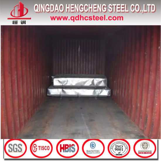 Hot Dipped Galvanized Corrugated Steel Sheet pictures & photos