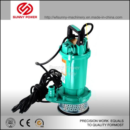 China 6inch Submersible Pump / Wq Sewage Drawing Water Pump - China