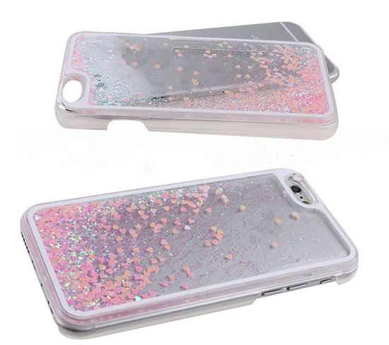 China Moving Liquid Sand Cellphone Case for iPhone 6 7 - China Cell ... 9584a6f38