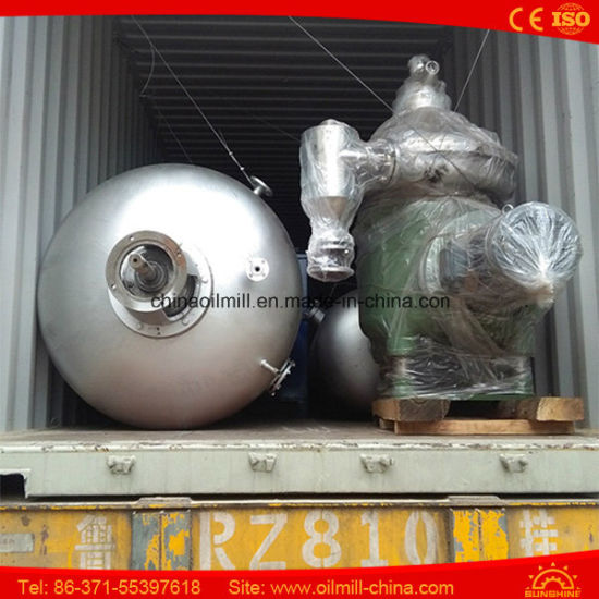 3t/D Corn Edible Vegetable Cooking Crude Oil Refinery Plant pictures & photos