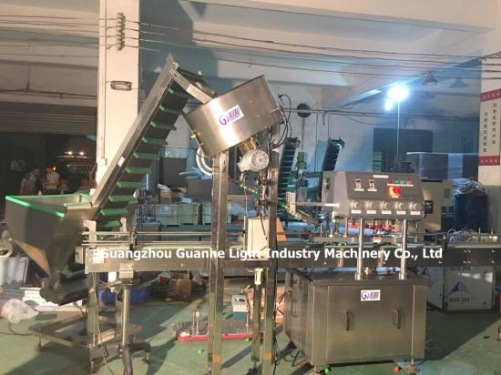 China Automatic Linear Capping Machine with Unscrambler & Lifter ...