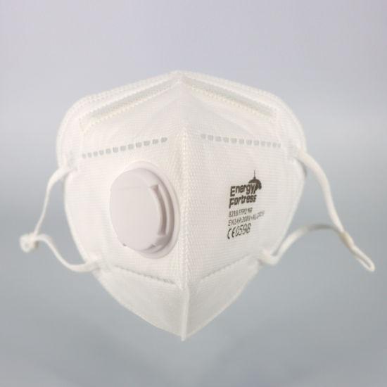 Distributors Favorite Wholesale Anti-Virus Dust Disposable Foldable FFP2 Protective Respirator Face Mask with Valve